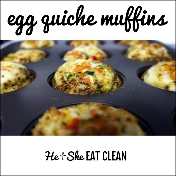 Make Vegetable Quiche Muffins in your muffin pan for easy grab and go breakfasts.