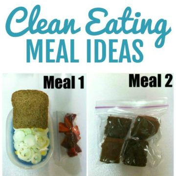 clean eating meal ideas square image