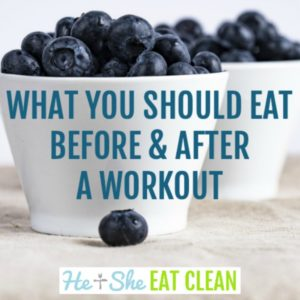 what you should eat before and after your workout square image