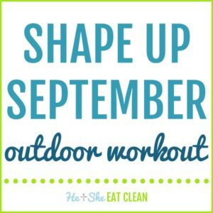 Shape Up September Outdoor Circuit