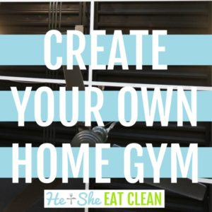 text reads create your own home gym