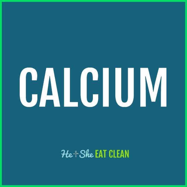 text reads calcium