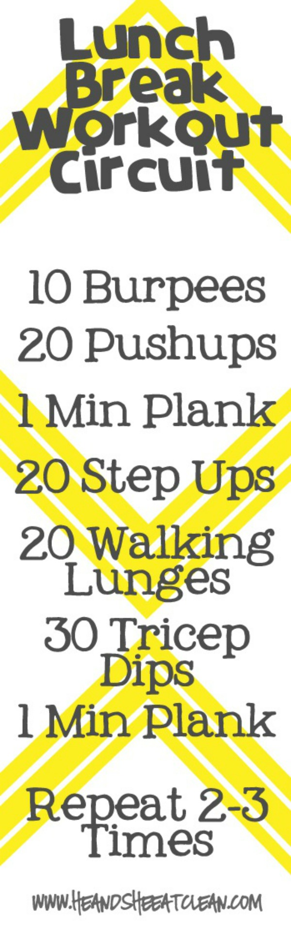 lunch break workout circuit