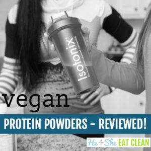 vegan protein powders reviewed