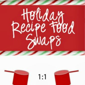 holiday recipe food swaps square image