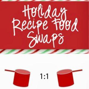 Calorie Saving Holiday Recipe Ingredient Swaps