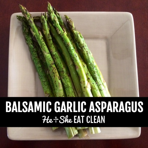 asparagus on a beige dish