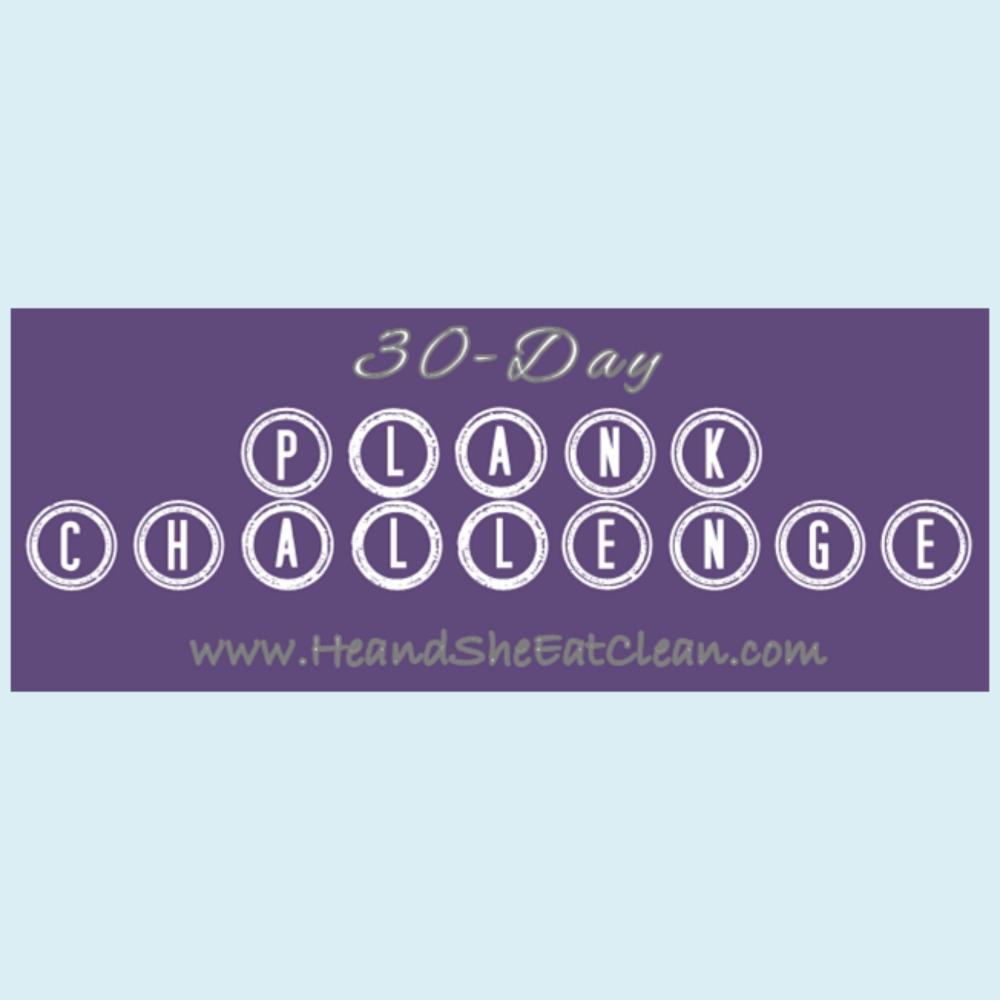 30 day plank challenge banner