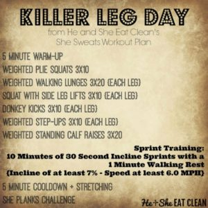Killer Leg Day Workout