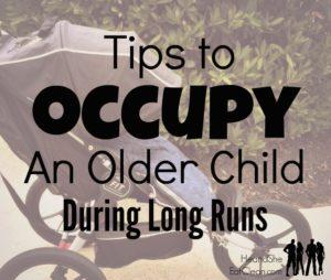8 Ways to Occupy Children During Long(er) Runs