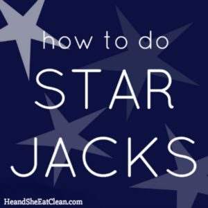 how to do star jacks