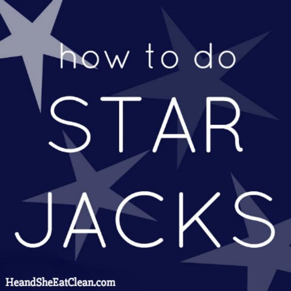 how to do star jacks