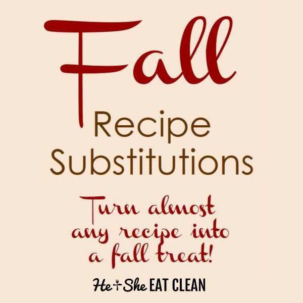 fall recipe substitutions square image