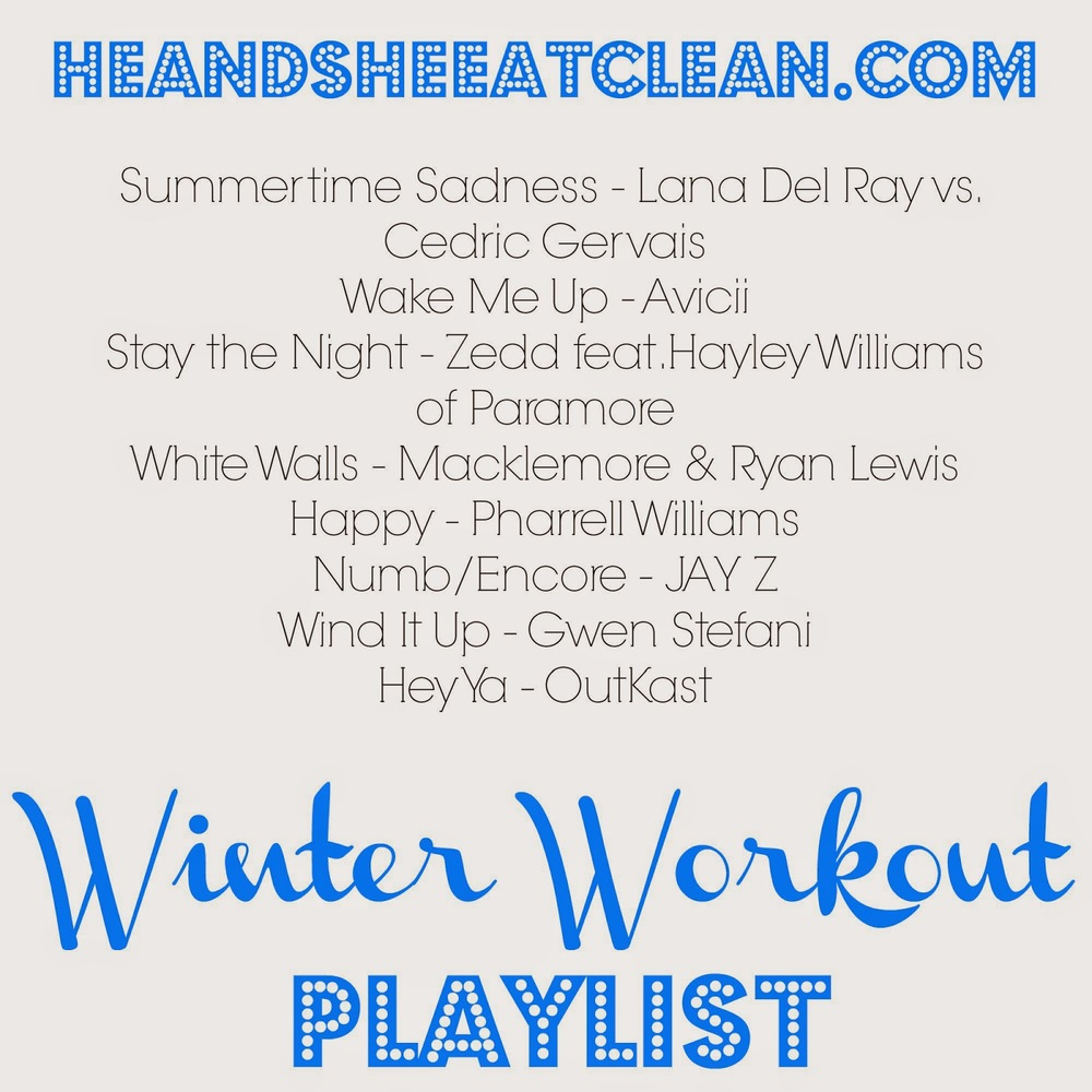 winter workout playlist