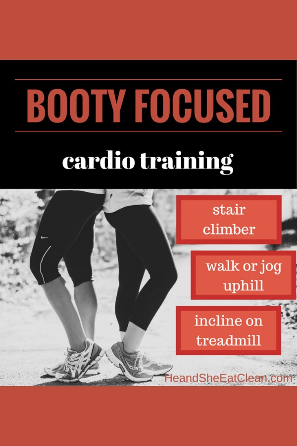 Booty Focused Cardio Training