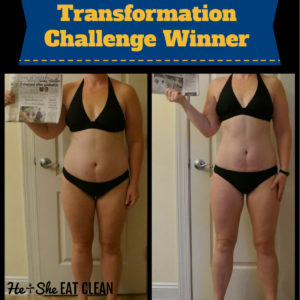 before and after weight loss picture of a female in a black swimsuit