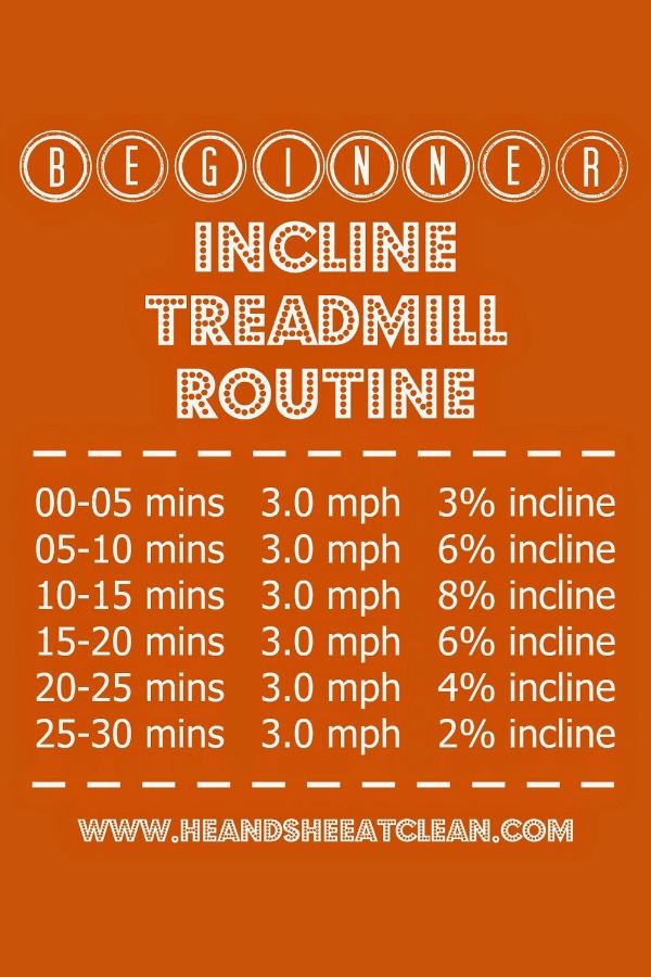 Beginner Incline Treadmill Routine
