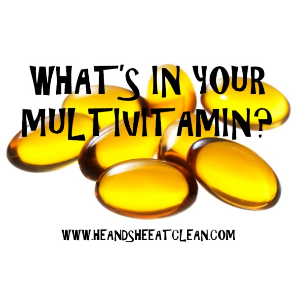text reads what's in your multivitamin
