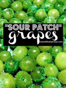 """""""Sour Patch"""" Grapes"""
