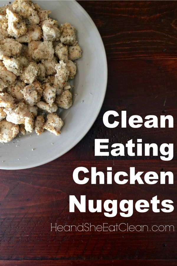 clean eating chicken nuggets