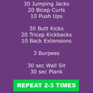 total body workout square image