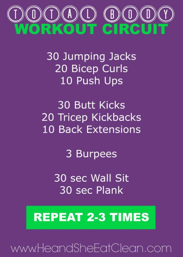 total body workout circuit