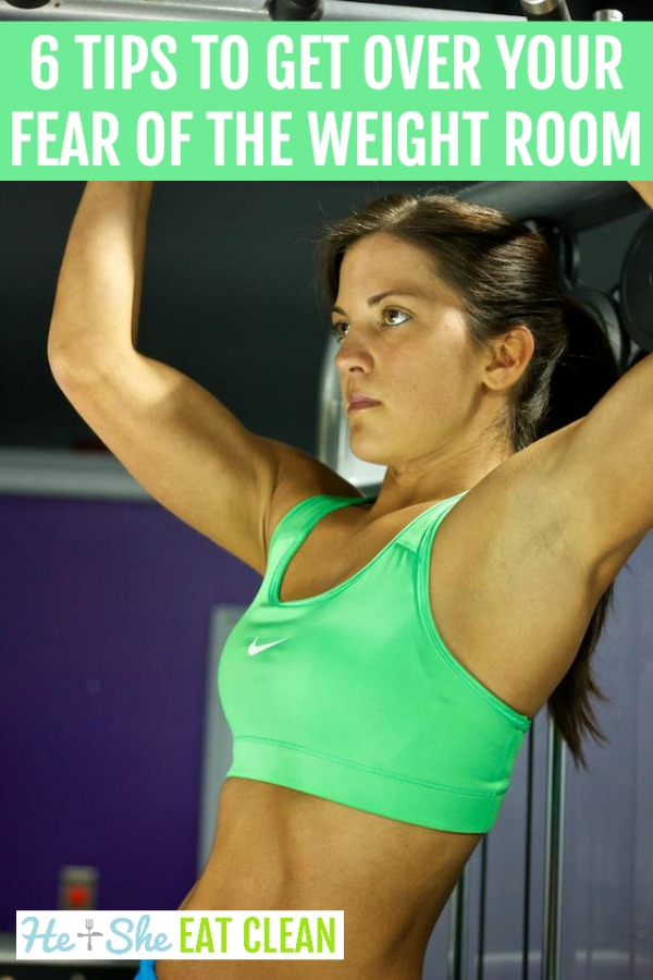 6 Tips to Get Over Your Fear of the Weight Room