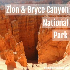 switchbacks in Bryce Canyon National Park