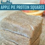 apple pie proteins squares stacked
