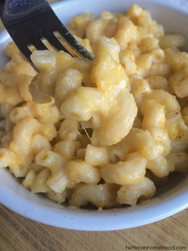 cream mac and cheese