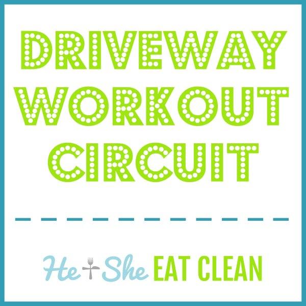 driveway workout circuit