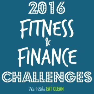 2016 fitness & finance challenges