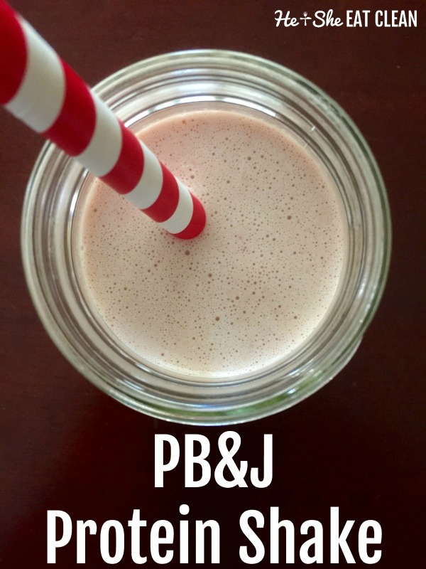Pb Amp J Protein Shake