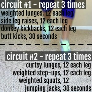 at home leg workout circuit square