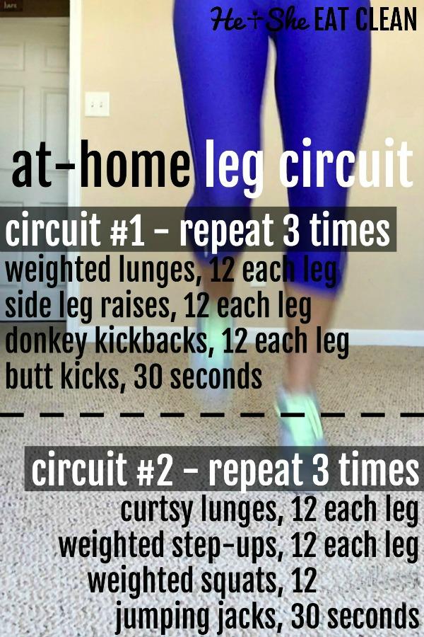 at home leg workout circuit
