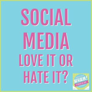 text reads social media: love it or hate it?