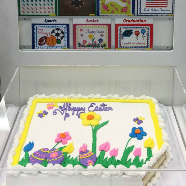 Easter/Spring Costco cake designs: how to order a cake from Costco