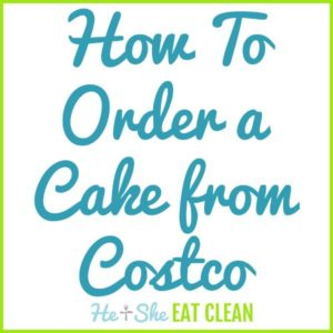 text reads how to order a cake from Costco