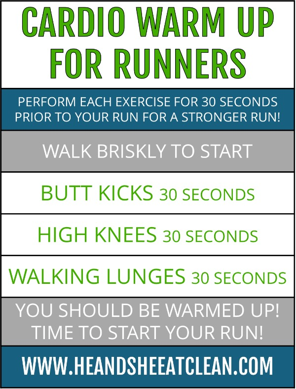 cardio warm-up for runners workout listed