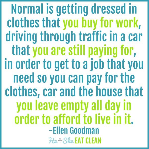 Ellen Goodman Rat Race Quote