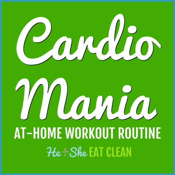 cardio mania workout listed