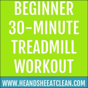 Beginner 30-Minute Treadmill Workout main image