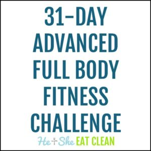 31-Day Advanced Full Body Fitness Challenge square image