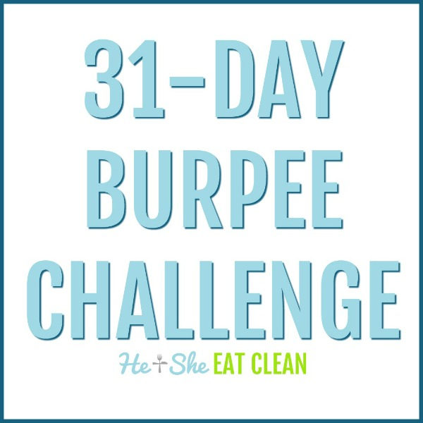 31 day burpee challenge