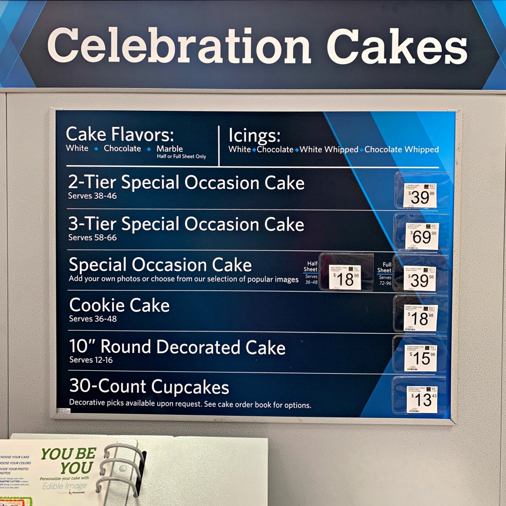 Pleasant How To Order A Cake From Sams Club Personalised Birthday Cards Veneteletsinfo