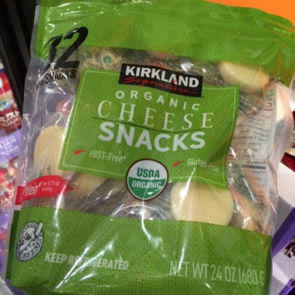 Kirkland Costco Organic Cheese Snacks
