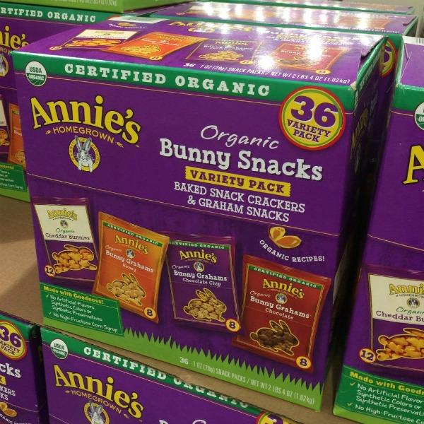 Annie's Organic Bunny Snacks at Costco