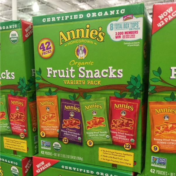 Annie's Organic Fruit Snacks at Costco