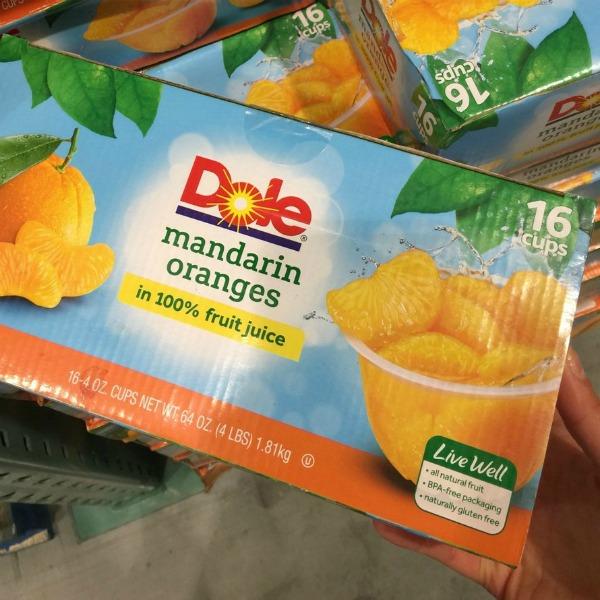 Dole Mandarin Oranges at Costco