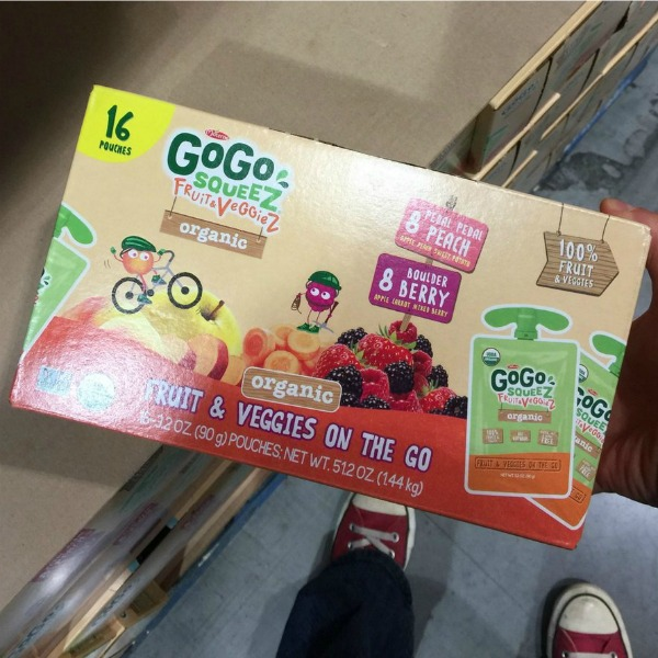Go Go Squeeze Fruit & Veggies On the Go Variety Pack Costco